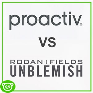 Difference between Proactiv vs Unblemish Rodan and Fields