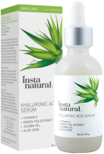 Best hyaluronic acid serum by InstaNatural