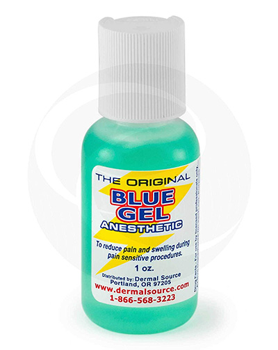 Lidocaine Blue Gel