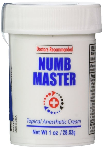 Best Topical Anesthetic Cream - Numb Master