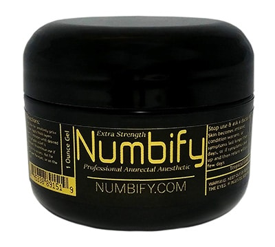 Numb-ify pain relieving Cream for Tattoos - Numbify