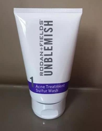 RODAN and FIELDS Unblemish Acne Treatment Sulfur Wash Reviews