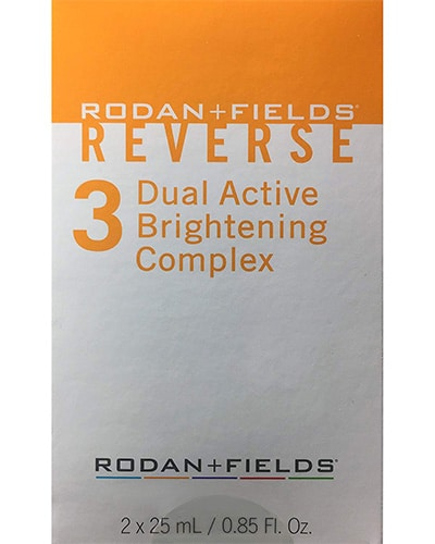 Rodan and Fields Reverse Dual Active Brightening Complex
