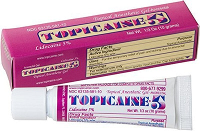 Topical Numbing Gel for Tattoos - TOPICAINE 5