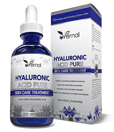 Uvernal hyaluronic acid serum for acne